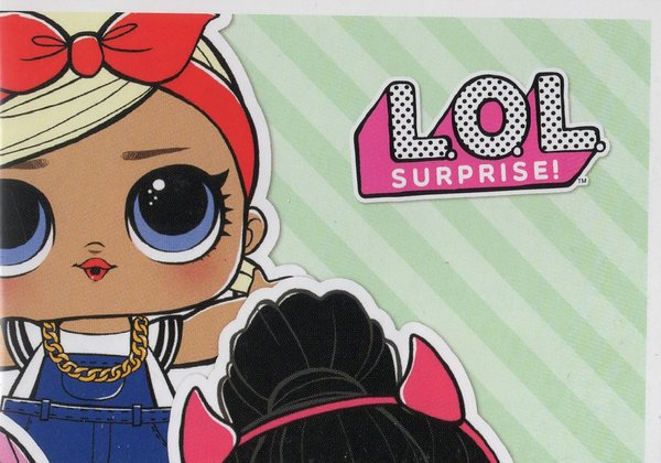 PANINI [L.O.L Surprise!] Sticker Nr. 002