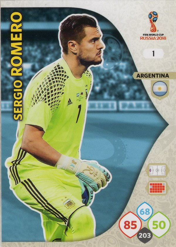 PANINI [FIFA World Cup Russia 2018 Adrenalyn XL] Trading Card Nr. 001
