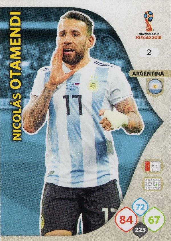 PANINI [FIFA World Cup Russia 2018 Adrenalyn XL] Trading Card Nr. 002
