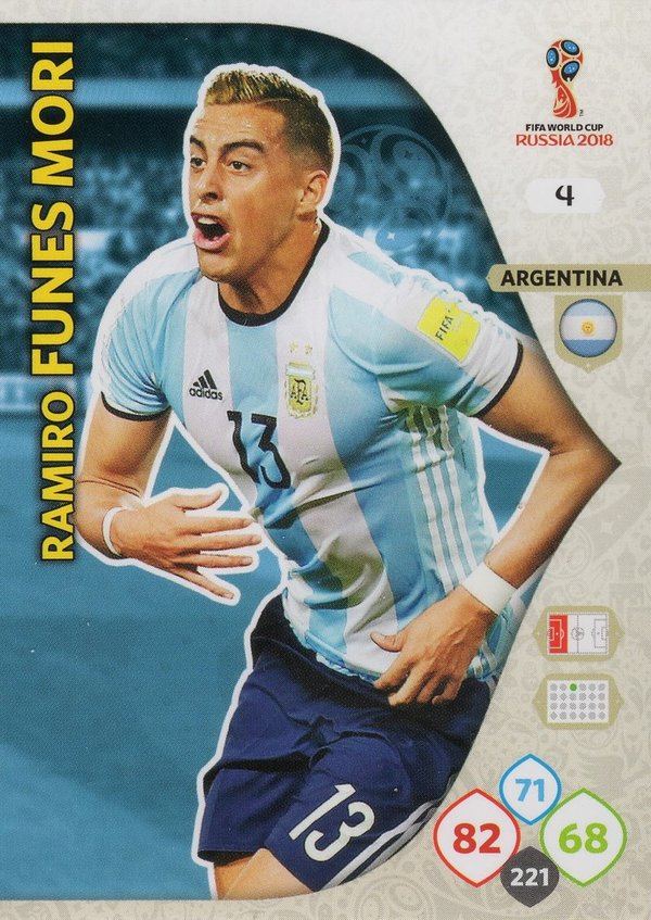 PANINI [FIFA World Cup Russia 2018 Adrenalyn XL] Trading Card Nr. 004