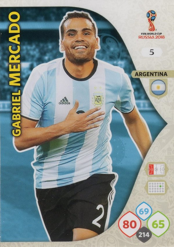 PANINI [FIFA World Cup Russia 2018 Adrenalyn XL] Trading Card Nr. 005