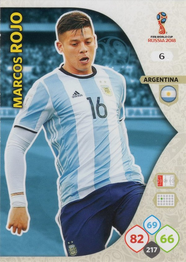 PANINI [FIFA World Cup Russia 2018 Adrenalyn XL] Trading Card Nr. 006