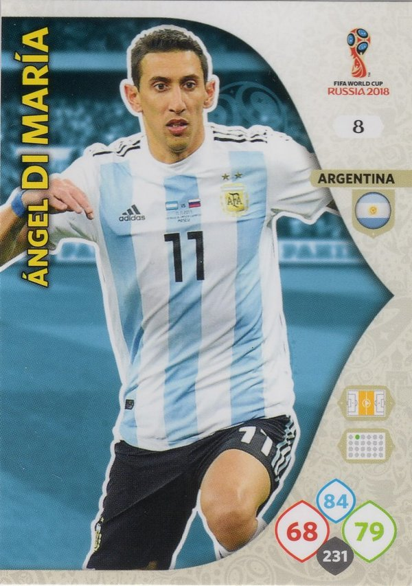 PANINI [FIFA World Cup Russia 2018 Adrenalyn XL] Trading Card Nr. 008