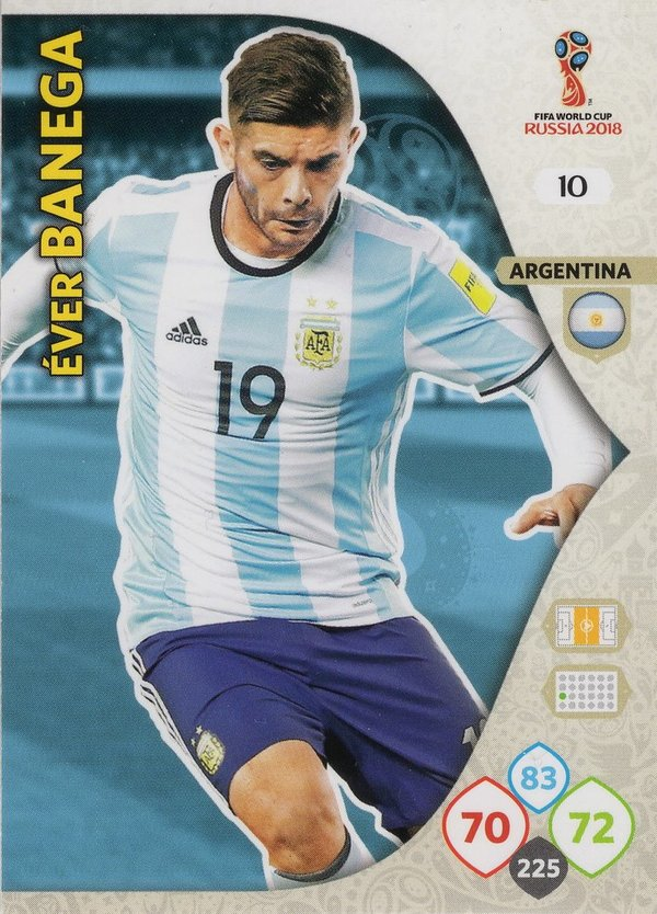 PANINI [FIFA World Cup Russia 2018 Adrenalyn XL] Trading Card Nr. 010