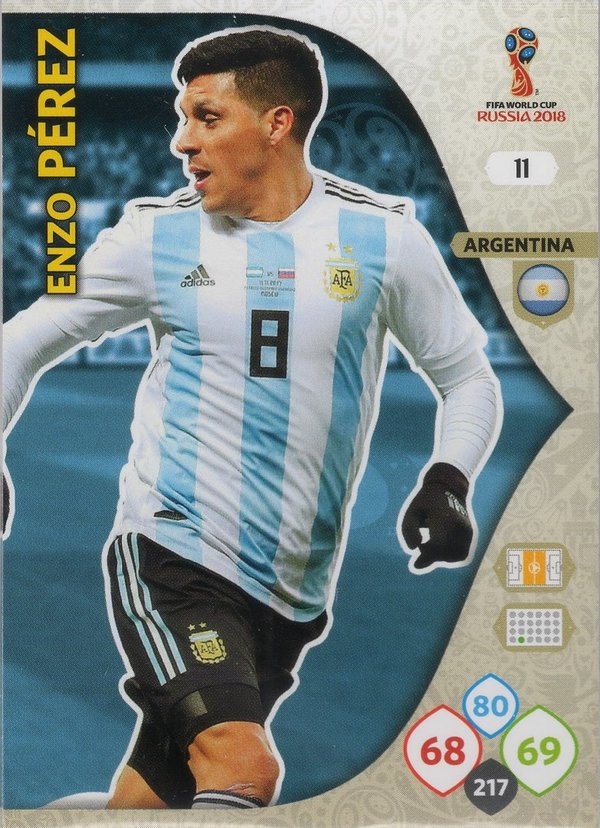 PANINI [FIFA World Cup Russia 2018 Adrenalyn XL] Trading Card Nr. 011