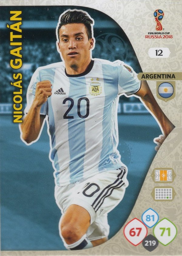 PANINI [FIFA World Cup Russia 2018 Adrenalyn XL] Trading Card Nr. 012