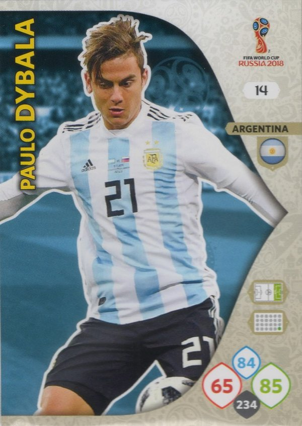 PANINI [FIFA World Cup Russia 2018 Adrenalyn XL] Trading Card Nr. 014