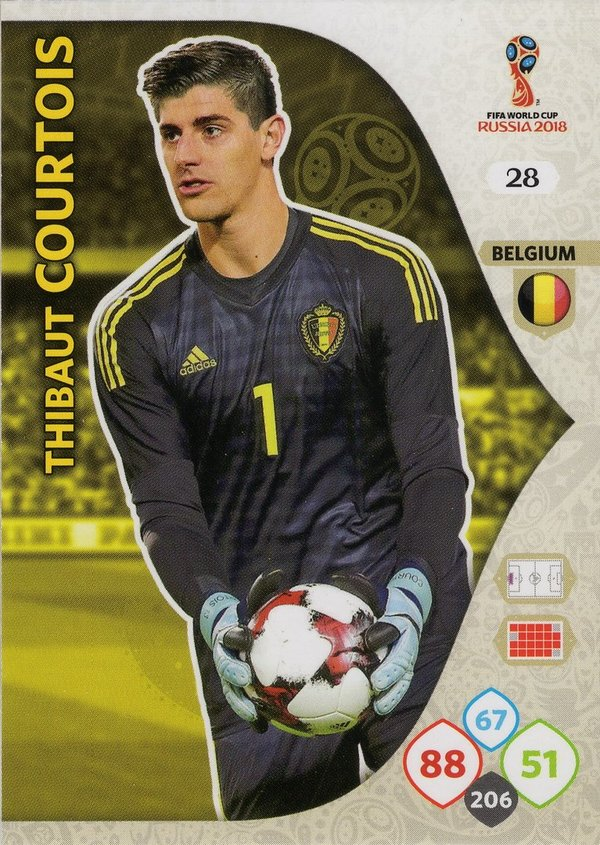 PANINI [FIFA World Cup Russia 2018 Adrenalyn XL] Trading Card Nr. 028