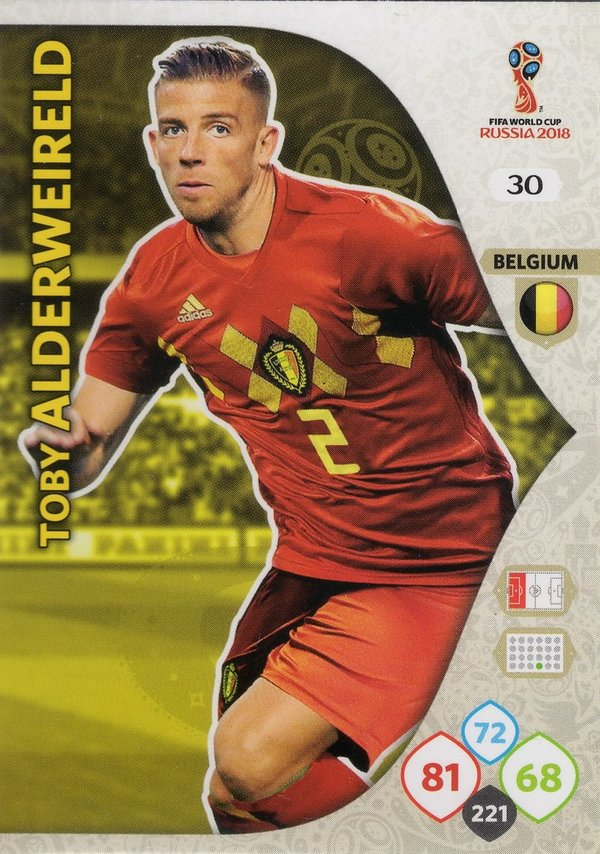 PANINI [FIFA World Cup Russia 2018 Adrenalyn XL] Trading Card Nr. 030