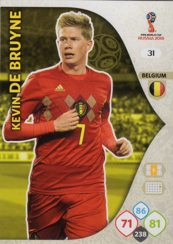 PANINI [FIFA World Cup Russia 2018 Adrenalyn XL] Trading Card Nr. 031