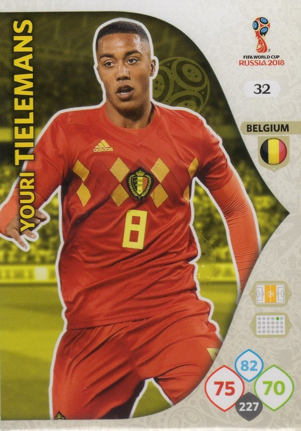 PANINI [FIFA World Cup Russia 2018 Adrenalyn XL] Trading Card Nr. 032