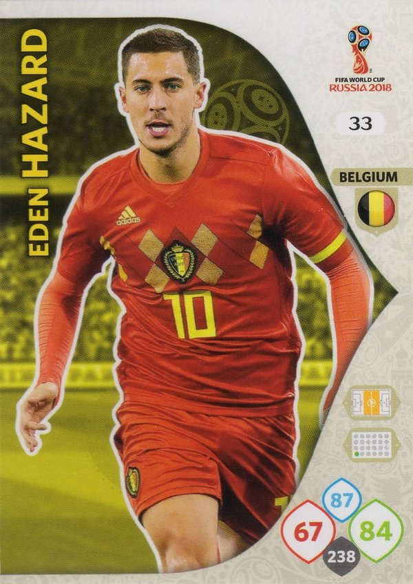 PANINI [FIFA World Cup Russia 2018 Adrenalyn XL] Trading Card Nr. 033