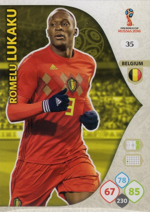 PANINI [FIFA World Cup Russia 2018 Adrenalyn XL] Trading Card Nr. 035