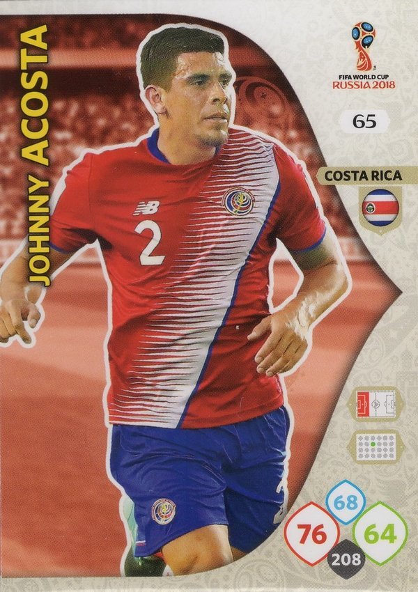 PANINI [FIFA World Cup Russia 2018 Adrenalyn XL] Trading Card Nr. 065