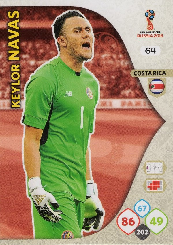 PANINI [FIFA World Cup Russia 2018 Adrenalyn XL] Trading Card Nr. 064