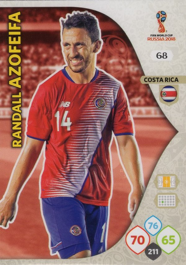 PANINI [FIFA World Cup Russia 2018 Adrenalyn XL] Trading Card Nr. 068