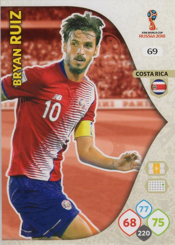 PANINI [FIFA World Cup Russia 2018 Adrenalyn XL] Trading Card Nr. 069