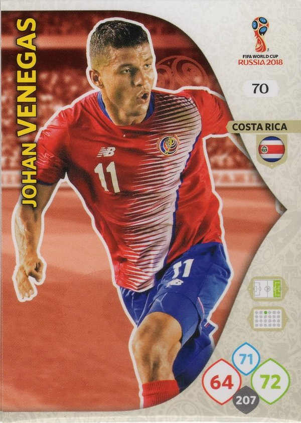 PANINI [FIFA World Cup Russia 2018 Adrenalyn XL] Trading Card Nr. 070