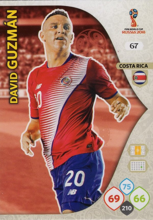 PANINI [FIFA World Cup Russia 2018 Adrenalyn XL] Trading Card Nr. 067