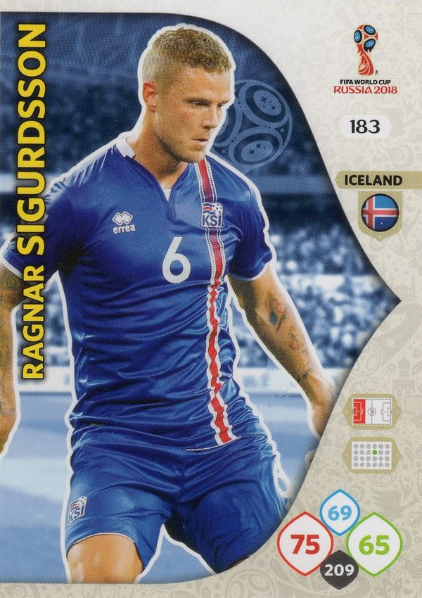 PANINI [FIFA World Cup Russia 2018 Adrenalyn XL] Trading Card Nr. 183