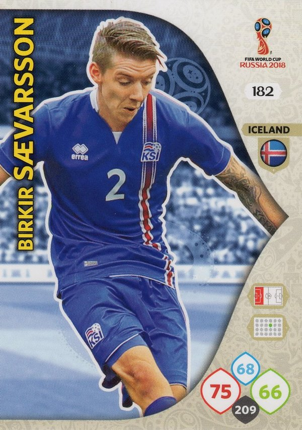 PANINI [FIFA World Cup Russia 2018 Adrenalyn XL] Trading Card Nr. 182