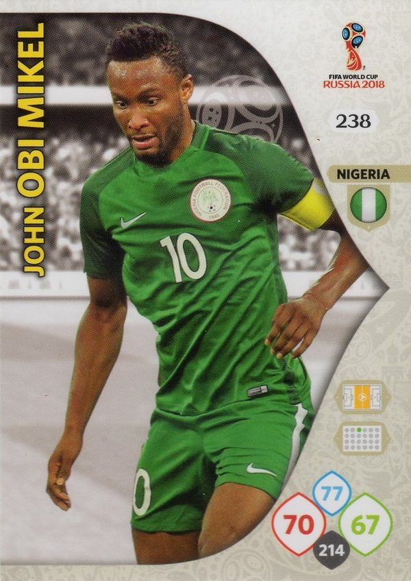 PANINI [FIFA World Cup Russia 2018 Adrenalyn XL] Trading Card Nr. 238
