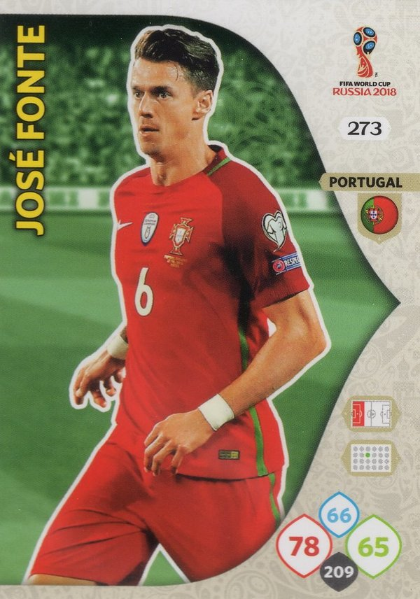 PANINI [FIFA World Cup Russia 2018 Adrenalyn XL] Trading Card Nr. 273