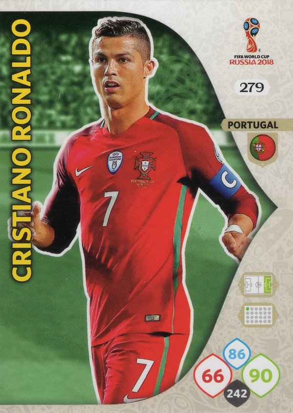 PANINI [FIFA World Cup Russia 2018 Adrenalyn XL] Trading Card Nr. 279