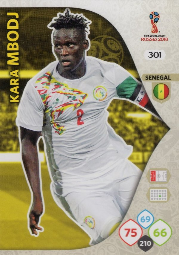 PANINI [FIFA World Cup Russia 2018 Adrenalyn XL] Trading Card Nr. 301