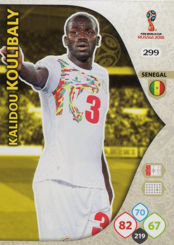 PANINI [FIFA World Cup Russia 2018 Adrenalyn XL] Trading Card Nr. 299