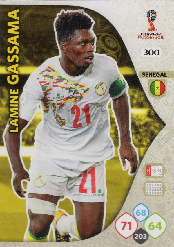 PANINI [FIFA World Cup Russia 2018 Adrenalyn XL] Trading Card Nr. 300
