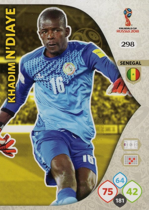 PANINI [FIFA World Cup Russia 2018 Adrenalyn XL] Trading Card Nr. 298