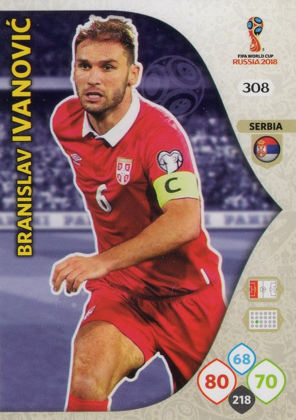PANINI [FIFA World Cup Russia 2018 Adrenalyn XL] Trading Card Nr. 308