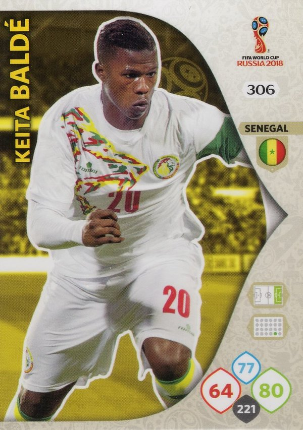 PANINI [FIFA World Cup Russia 2018 Adrenalyn XL] Trading Card Nr. 306