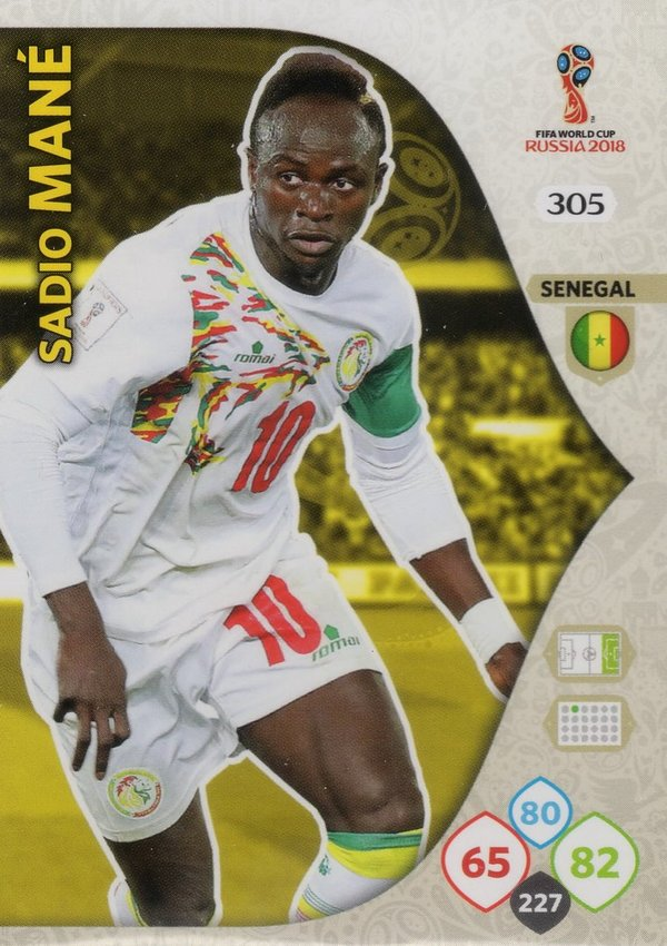 PANINI [FIFA World Cup Russia 2018 Adrenalyn XL] Trading Card Nr. 305