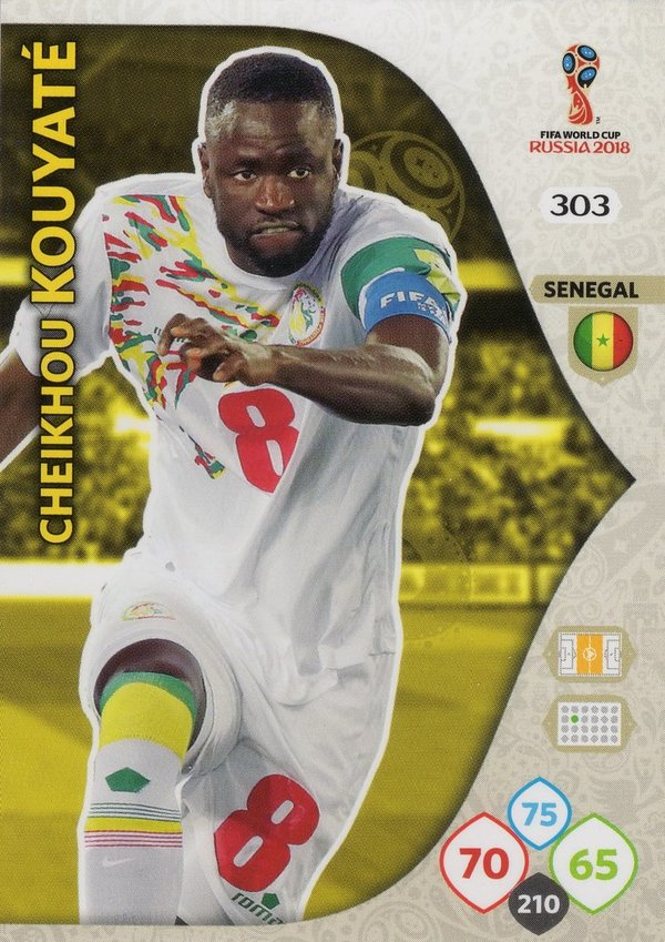 PANINI [FIFA World Cup Russia 2018 Adrenalyn XL] Trading Card Nr. 303