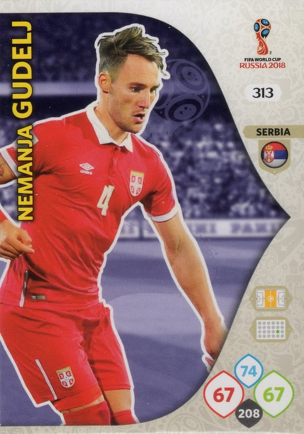 PANINI [FIFA World Cup Russia 2018 Adrenalyn XL] Trading Card Nr. 313