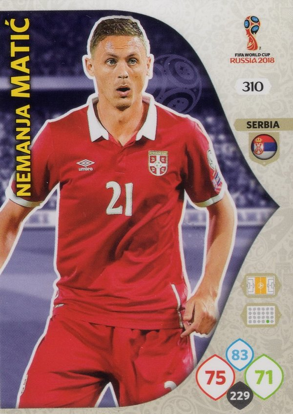 PANINI [FIFA World Cup Russia 2018 Adrenalyn XL] Trading Card Nr. 310