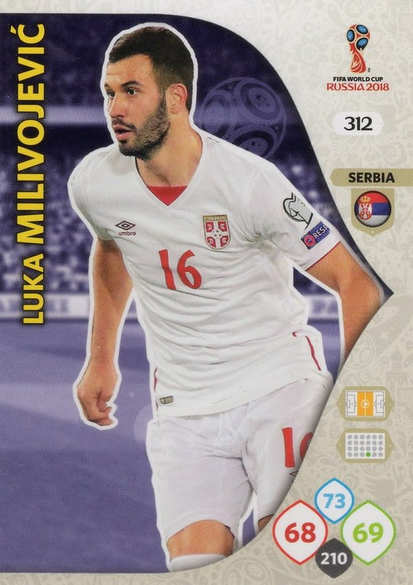 PANINI [FIFA World Cup Russia 2018 Adrenalyn XL] Trading Card Nr. 312