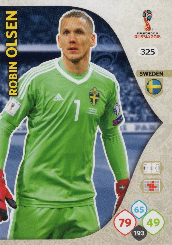PANINI [FIFA World Cup Russia 2018 Adrenalyn XL] Trading Card Nr. 325