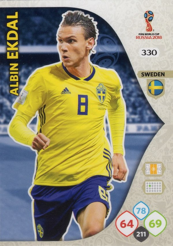 PANINI [FIFA World Cup Russia 2018 Adrenalyn XL] Trading Card Nr. 330