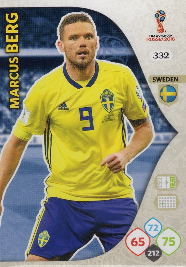 PANINI [FIFA World Cup Russia 2018 Adrenalyn XL] Trading Card Nr. 332