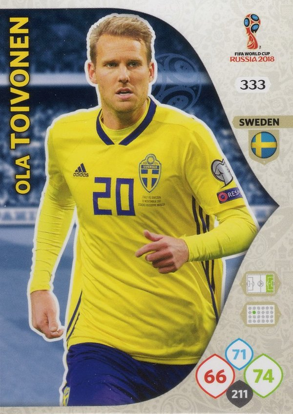 PANINI [FIFA World Cup Russia 2018 Adrenalyn XL] Trading Card Nr. 333