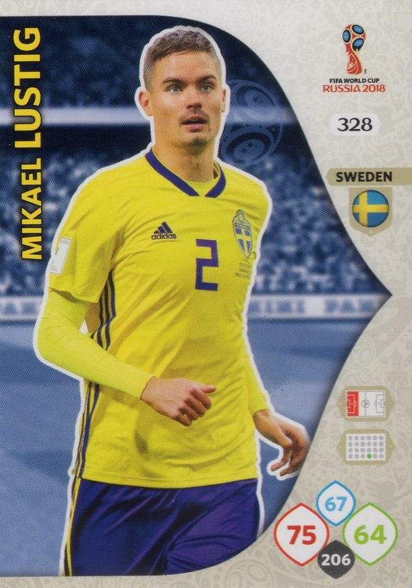 PANINI [FIFA World Cup Russia 2018 Adrenalyn XL] Trading Card Nr. 328