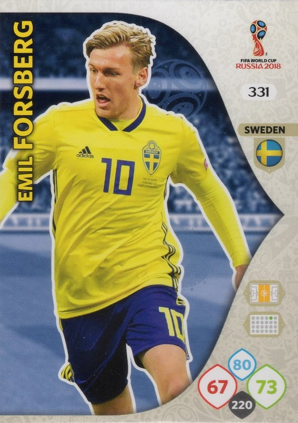 PANINI [FIFA World Cup Russia 2018 Adrenalyn XL] Trading Card Nr. 331
