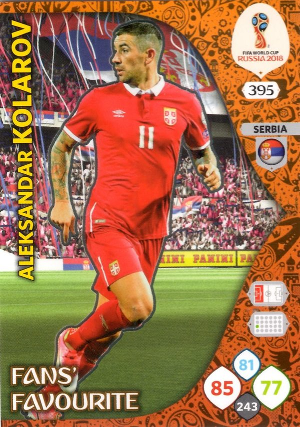 PANINI [FIFA World Cup Russia 2018 Adrenalyn XL] Trading Card Nr. 395