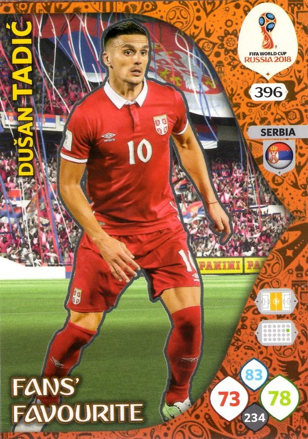 PANINI [FIFA World Cup Russia 2018 Adrenalyn XL] Trading Card Nr. 396