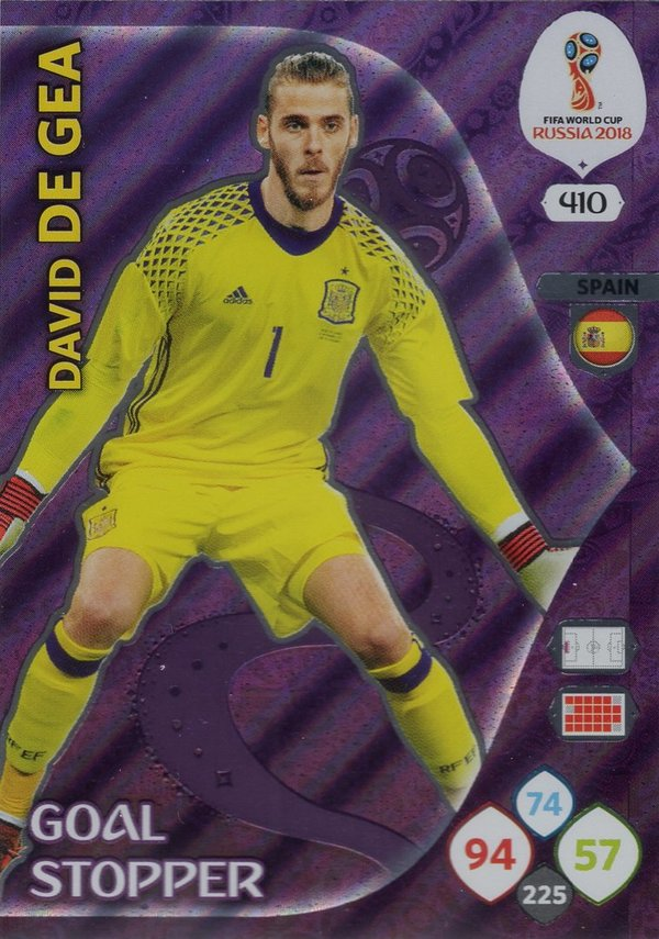 PANINI [FIFA World Cup Russia 2018 Adrenalyn XL] Trading Card Nr. 410