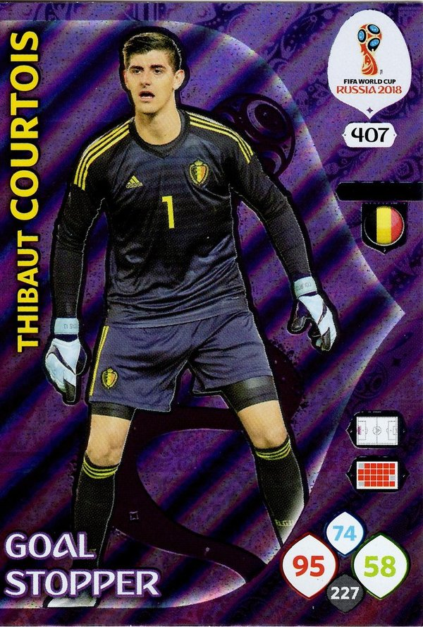 PANINI [FIFA World Cup Russia 2018 Adrenalyn XL] Trading Card Nr. 407