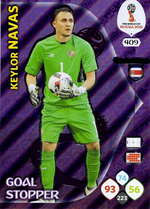 PANINI [FIFA World Cup Russia 2018 Adrenalyn XL] Trading Card Nr. 409